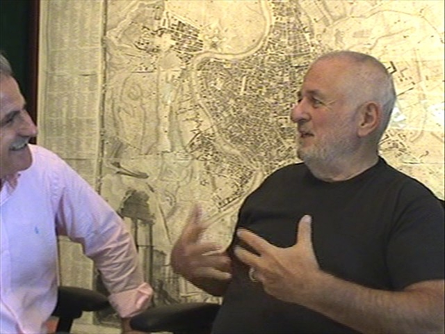 Carlos salum and richard saul wurman