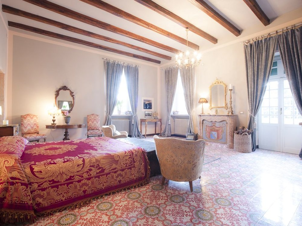 VILLA IL CARDINALE - BEDROOM suite