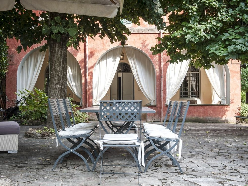 villa il cardinale - outdoor patio