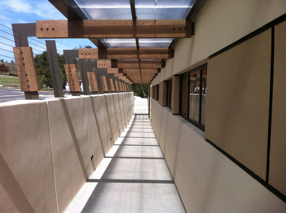 PASO ROBLES DENTAL OFFICE BUILDING U2014u0026nbsp; COVERED ENTRANCE ADA RAMP
