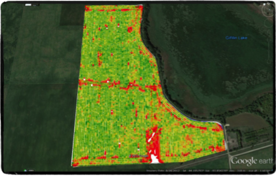 Machine Yield Monitor Results (NDVI)