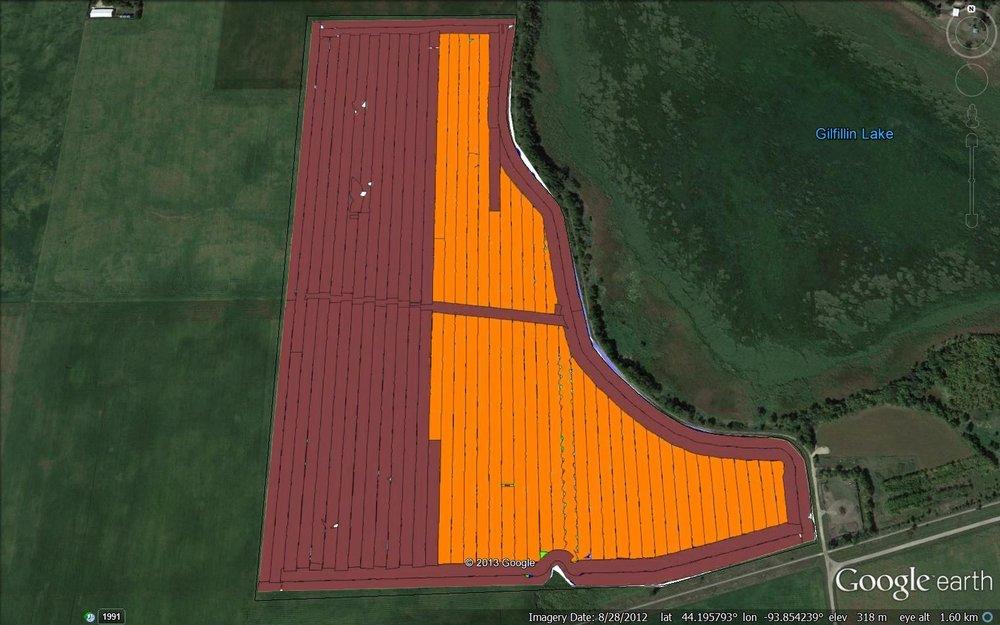 Hybrid Planting Map