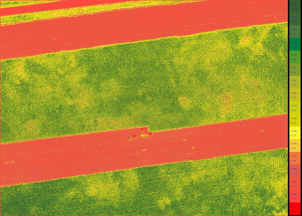 Corn Silage Yield Estimation (NDVI)