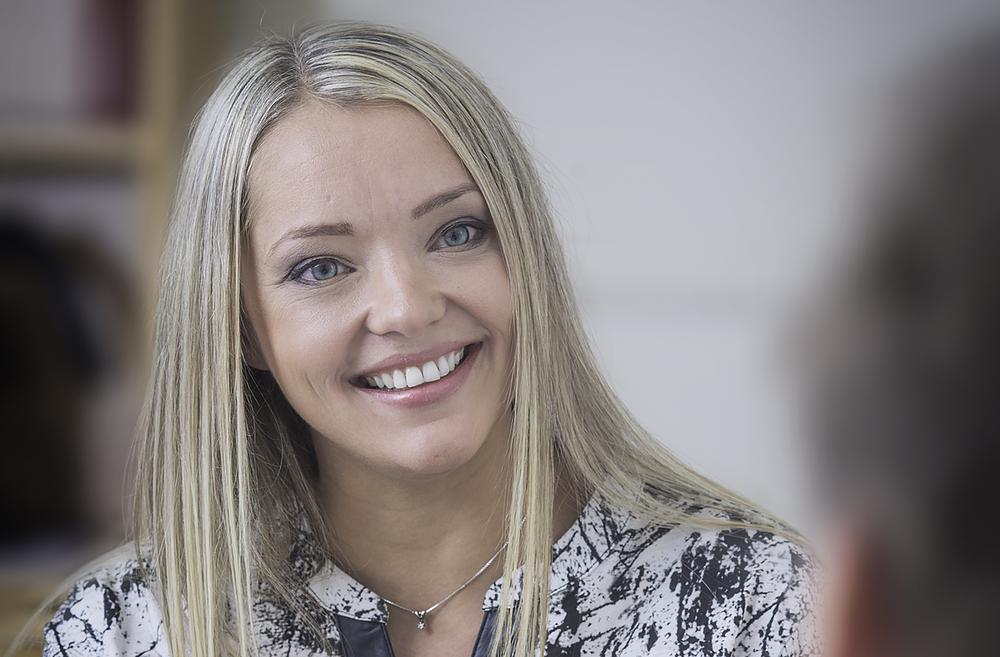 Winnie Støylen – Life- & Business Coach og Helsecoach. Foto: Per Eide.