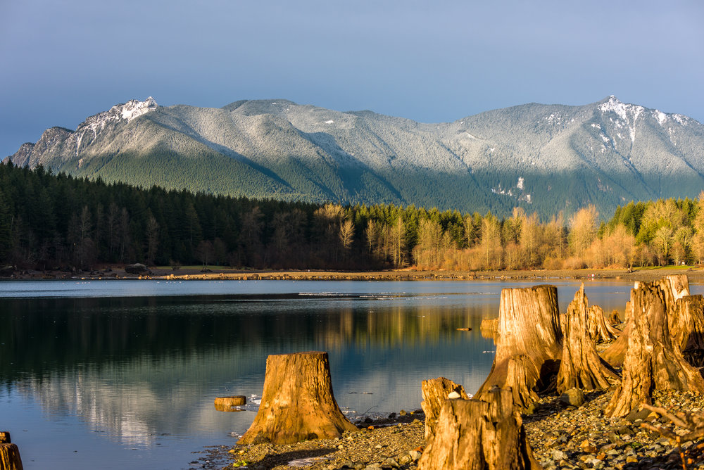 Mount Si and Rattlesnake Lake  Photo by Kevin Ehlers - Nikon d810 + 20mm @ f8