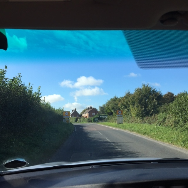 24.10.16 Throwback to our recces earlier this month - braving some picturesque but narrow roads in the West Country - good thing a gorgeous sunny day accompanied our visits...