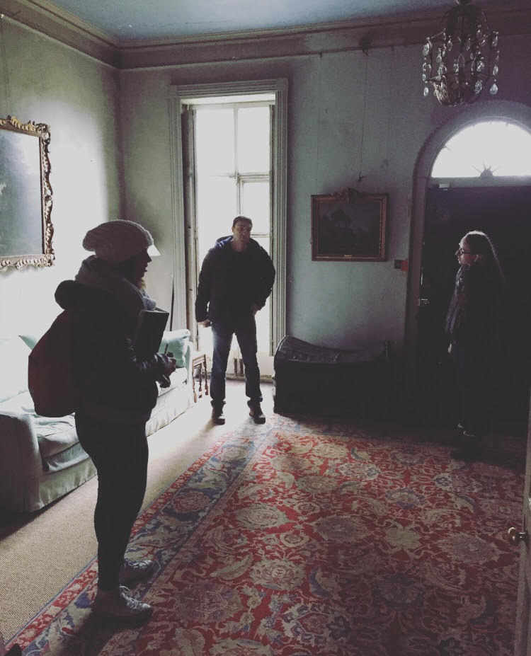 5.3.2017. Dreams unfolding (and lots and lots of planning) at a team recce yesterday - so excited to share the vision for the stunning space (of which this lovely room is only one part)! Happy weekend everyone!