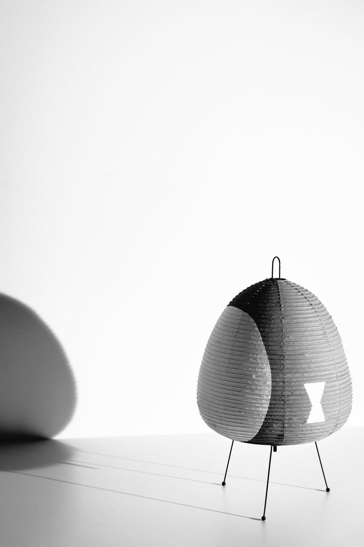 Akari Light Sculpture 1AG Table Lamp  Isamu Noguchi - Ozeki