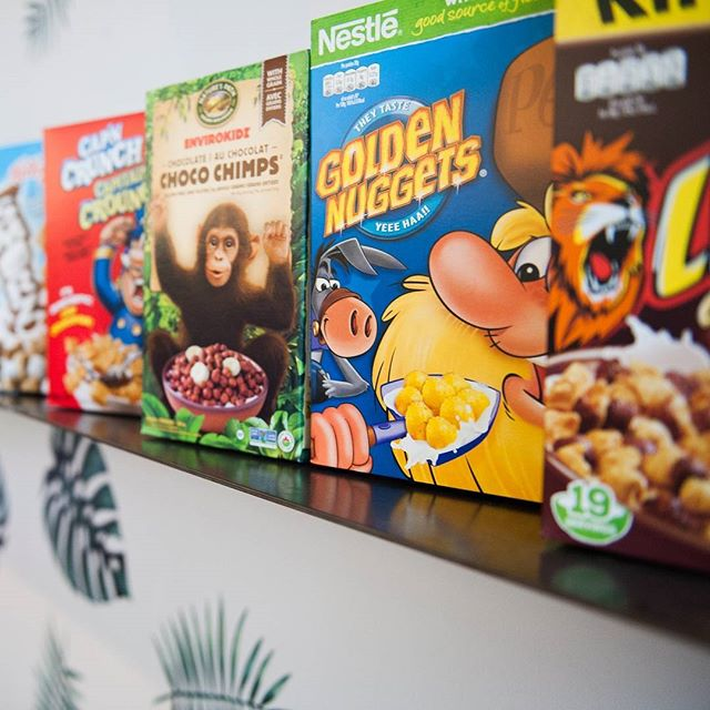 It's #Crunchtime! We're open from 8am to 6pm today, stop by and try our array of imported and domestic cereals to make all of your 6-year-old dreams come true. Limited availability of International cereal, get it early!
