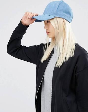 Asos Denim Baseball Hat