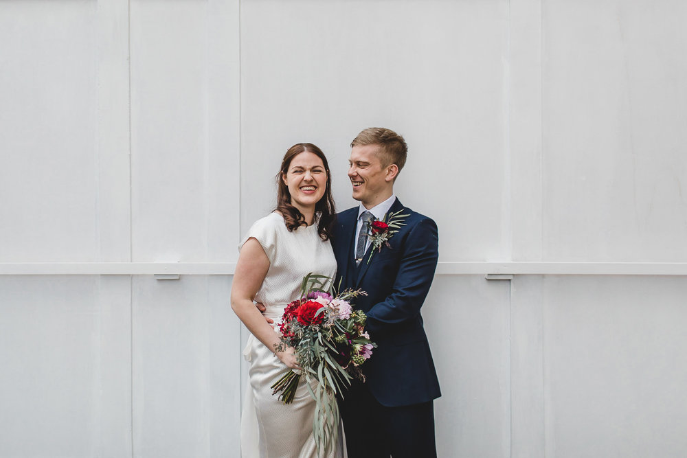 St Monicas Hoxton Square wedding photography