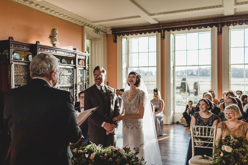Ceremony at Prestwold Hall