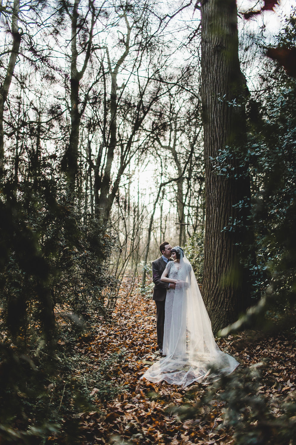 Winter wedding Prestwold Hall