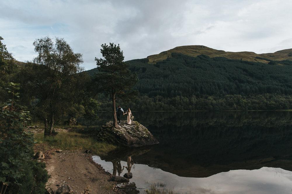 Highlands elopement testimonial