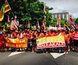 The Aloha ʻĀina Project is an effort to mobilize Kanaka Hawai'i and  supporters to stand for the protection of precious land and natural  resources.
