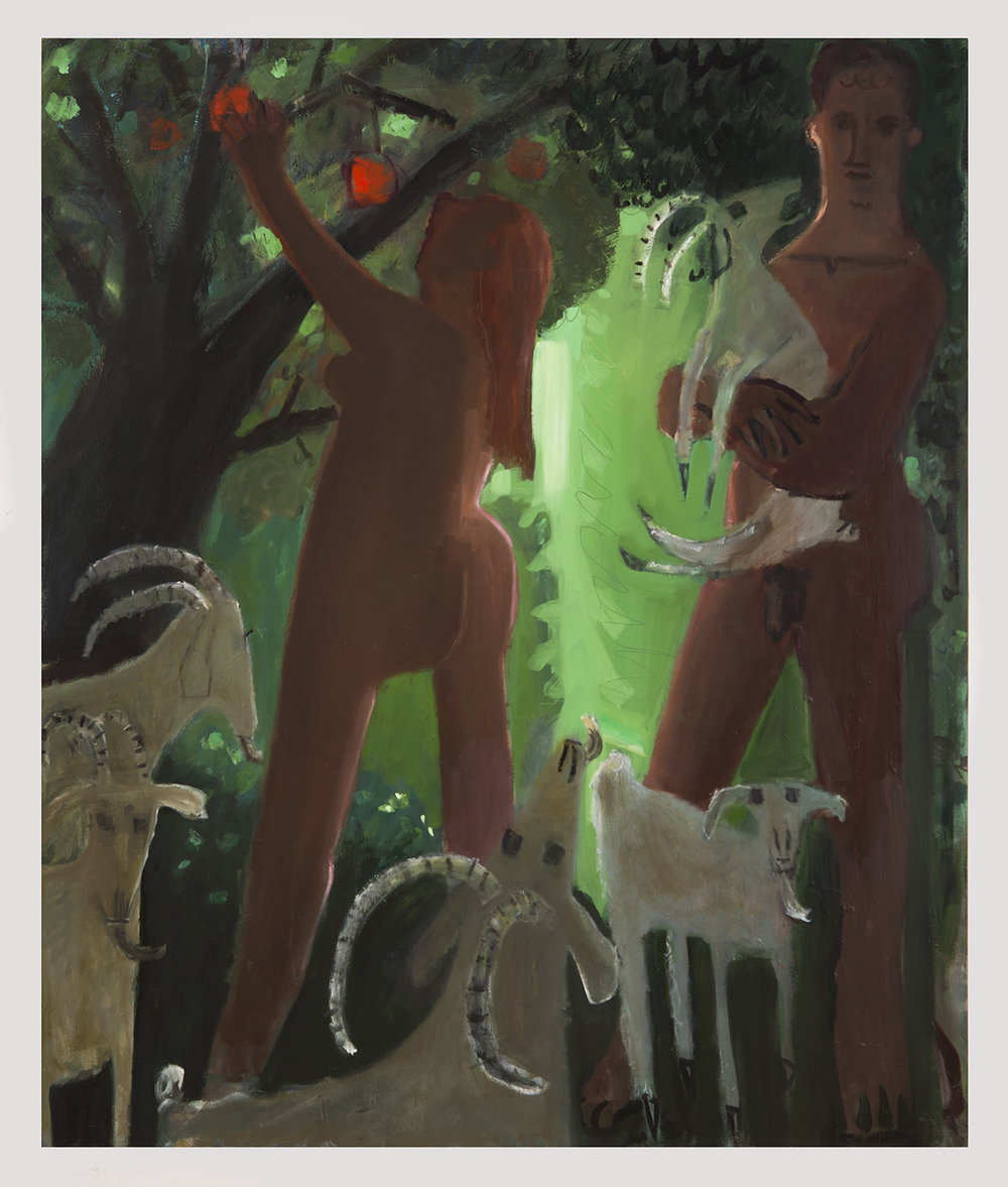 Adam and Eve and The Goats, 2016