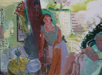 Woman with Lilies (1998)