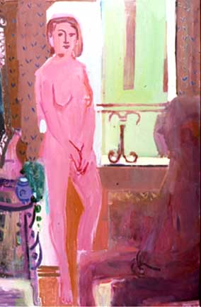 Clare , 1999 Oil on canvas 48 x 72 inches