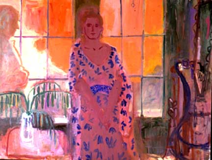 Fall Afternoon , 1999 Oil on canvas 68 x 58 inches