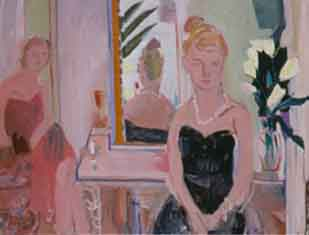 Franklin's Party , 1998 Oil on canvas 60 x 48 inches