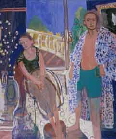 Japanese Robe , 1998 Oil on linen 58 x 68 inches