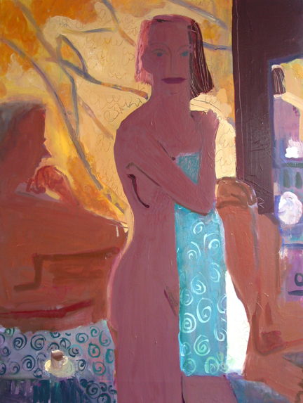 Katherine's Morning , 2003 Oil on linen 36 x 48 inches