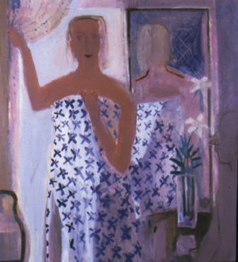 Maggie , 2000 Oil on canvas 48 x 52 inches