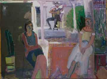 Margarita , 1998 Oil on canvas 48 x 54 inches