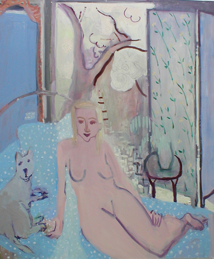 Spring , 2002 Oil on linen 54 x 64 inches