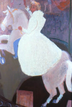 Sylvia , 2001 Oil on canvas 48 x 68 inches