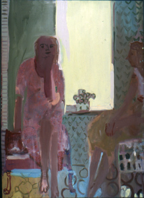 Tracy's Painting , 2000 Oil on canvas 36 x 48 inches