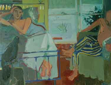 Winter Morning , 1997 Oil on canvas 64 x 52 inches