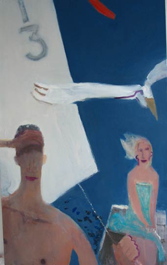 Pelican, 2005 oil on linen 48x68 inches
