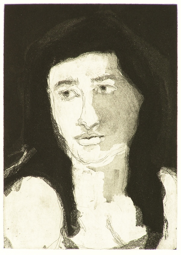 Ellen , 2009 Etching and Aquatint 5 x 7 inches