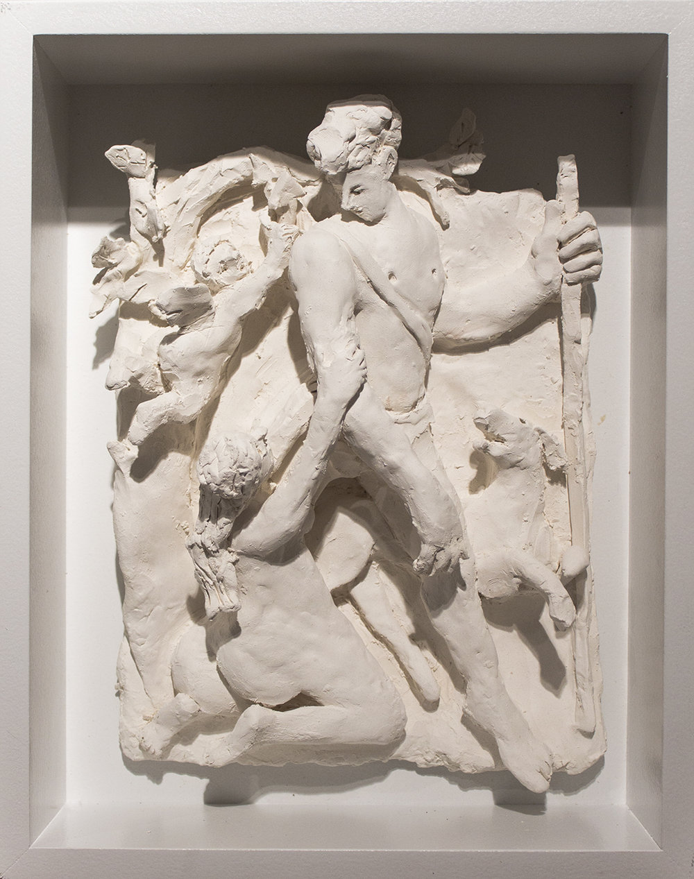 Study for Venus and Adonis , 2016 Terracotta 13 × 10 1/2 inches