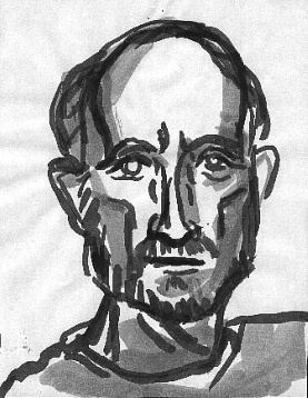 Ben H. , 2000 Ink on paper 8.5 x 11 inches