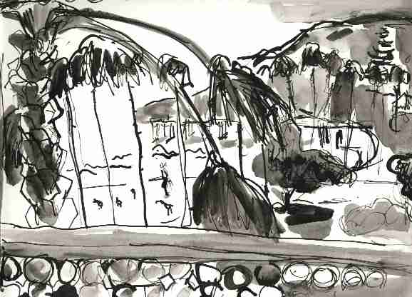 California , 1999 Ink 8.5 x 14 inches