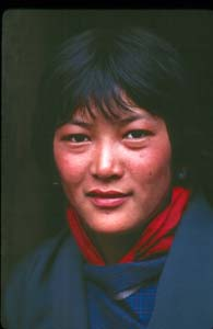 Bhutan Roskelley_Yak herders daughter Bhutan 1986.jpg