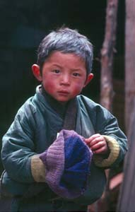 Bhutan Roskelley_Young Bhutanese boy 1986.jpg