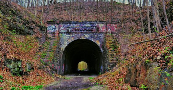 The moonville tunnel