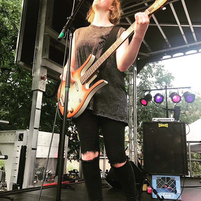 The buffalo bill days festival was AMAZING and we are so grateful to everyone who came to see us! Thank you, and Love ya mean it!  #buffalobilldays #buffalobilldays2017 #skeletondollsband #loveyameanit #loveyameanitsd
