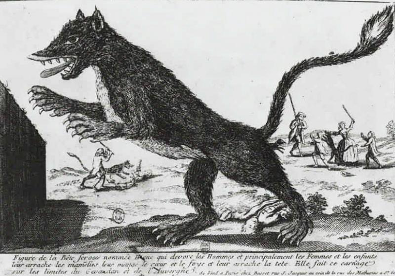 Beast of Gevaudan 1764