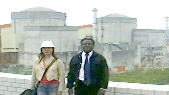 Daya Bay Nuclear Power Plant in China. With our China Office Director Zhang Xiaoping