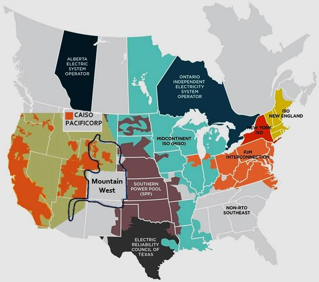 Mountain West Transmission Group Environmental Hope Justice - Us iso map