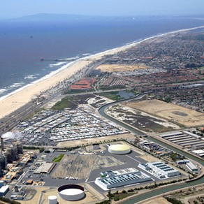 Huntington Beach Power Plant & Site of Huntington Beach  Desalination Plant, photo courtesy AES
