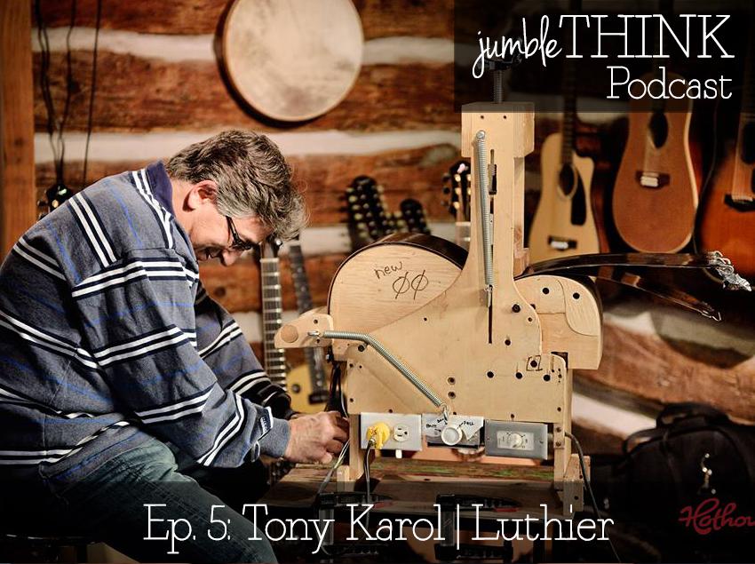 Luthier Tony Karol
