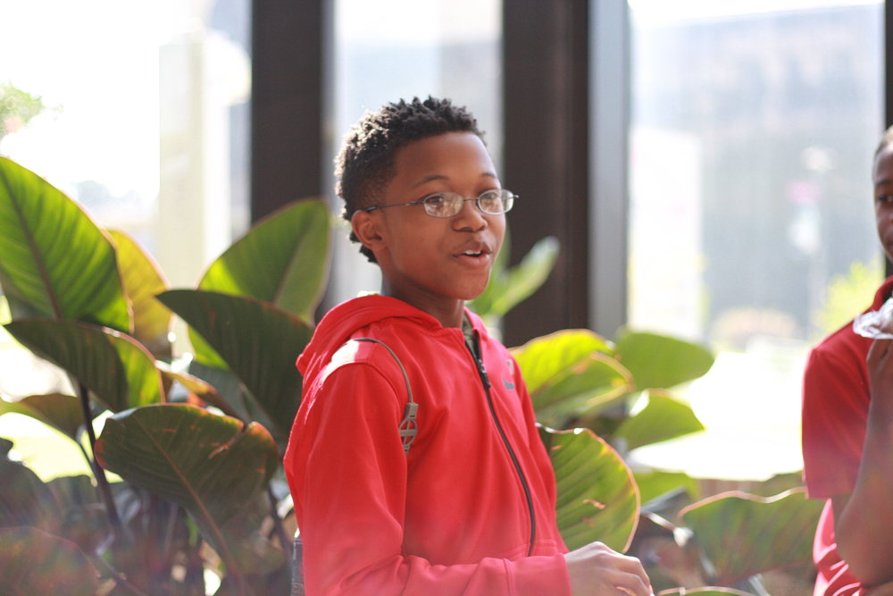 """""""I want to be an engineer. I like trying to find out how things work, and coding is learning the ins and outs of computers. So people have a problem with their computer, they call me, I fix the problem and I make a living."""" Jeremiah, The Futures Fund student"""