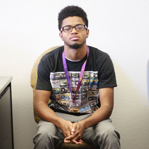 """""""I think Baton Rouge is divided. When I lived in Georgia I went to a pretty diverse school, but here there's a bigger separation of black and white people."""" Kierre Marshall, The Futures Fund student"""
