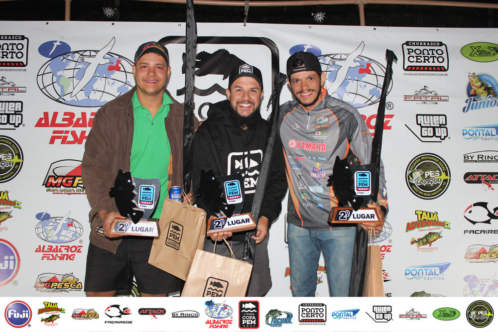 Equipe 2ª colocada: -  Cide Franco  (Capitão)-  Douglas Rinco -  Rafael Bartolomeu Silva