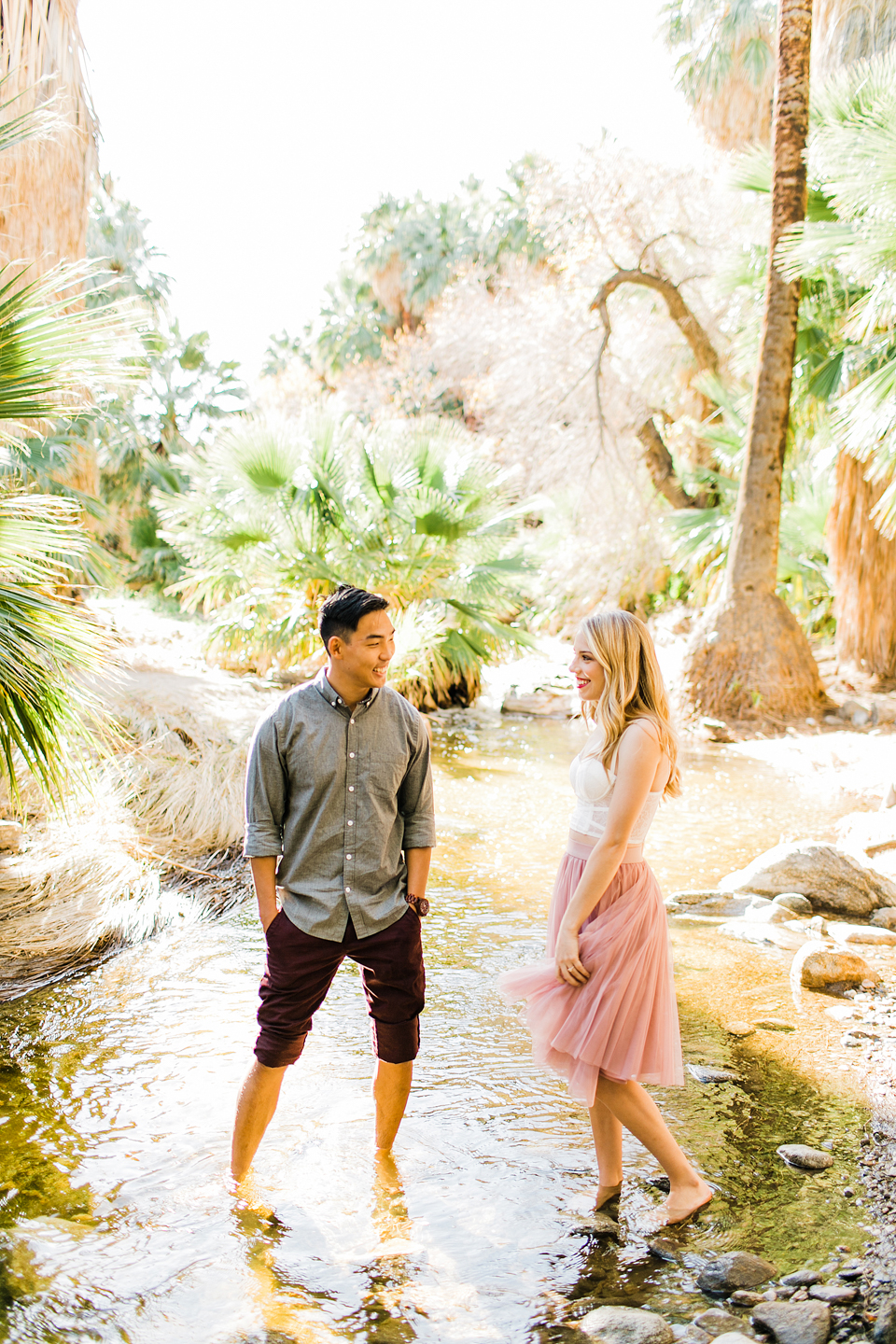LAUREN AND THOMAS - PALM CANYON, CALIFORNIA